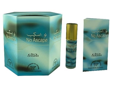 No Ascape - Box of 6 x 6ml Roll On Perfume Oil by Nabeel