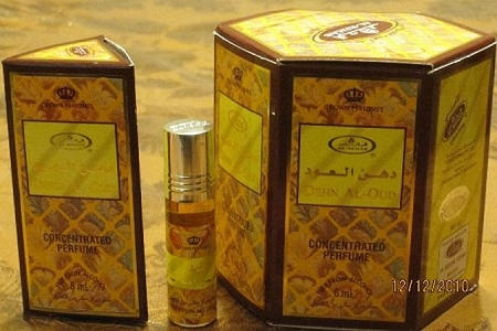 Dehn Al-Oud - 6ml (.2oz) Roll-on Perfume Oil by Al-Rehab (Box of 6)
