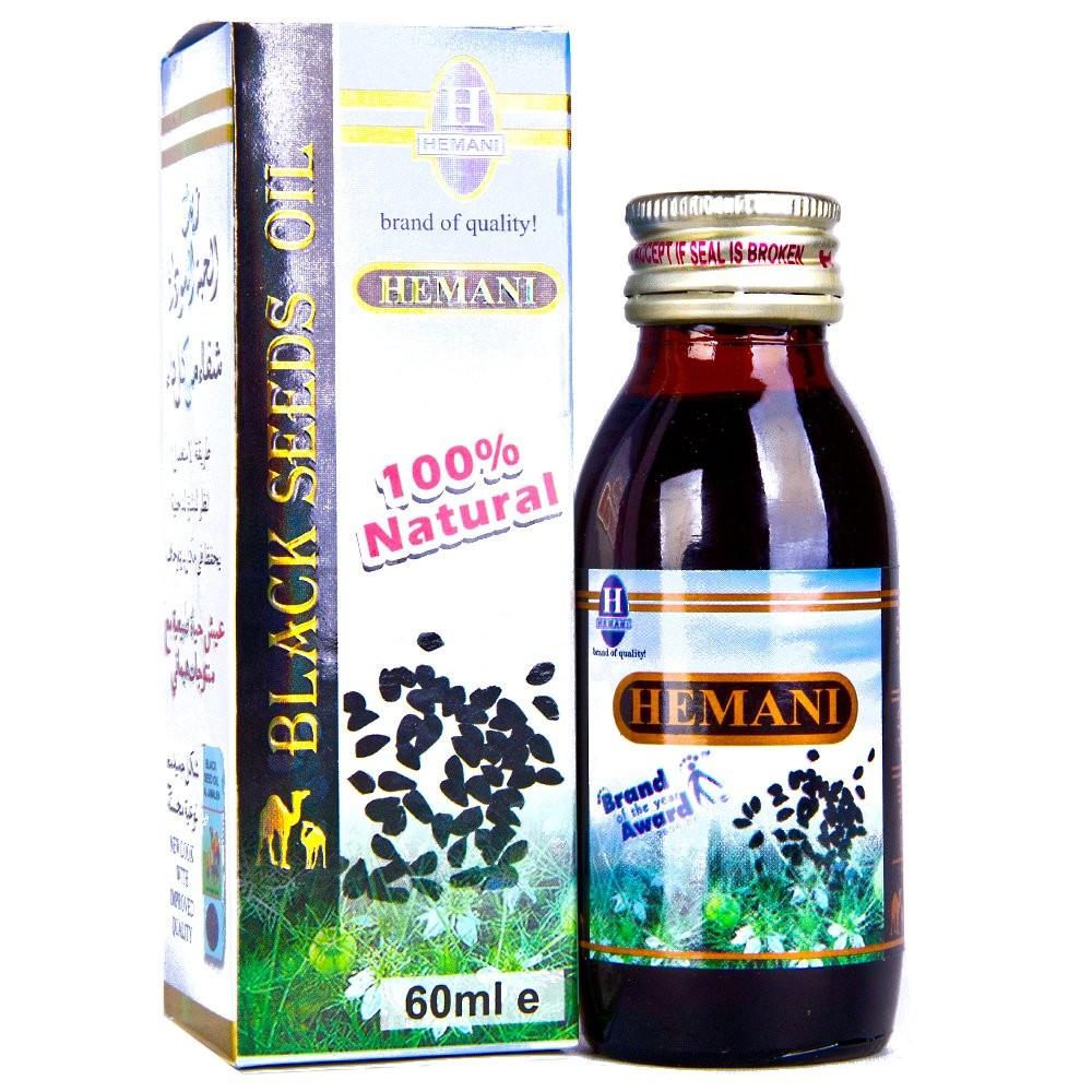 Black Seed Oil by Hemani - 60ml (2 02 fl oz)