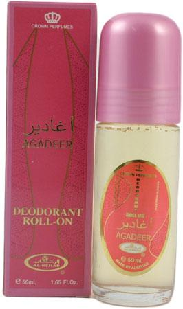 Agadeer Deodorant Roll-on by Al-Rehab (50ml)
