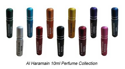 Al Haramain Collection (set of 11 Oriental Perfumes [10ml])