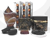 NABEEL BLACK (Etisalbi) Oudh and Bakhoor Incense Gift Set