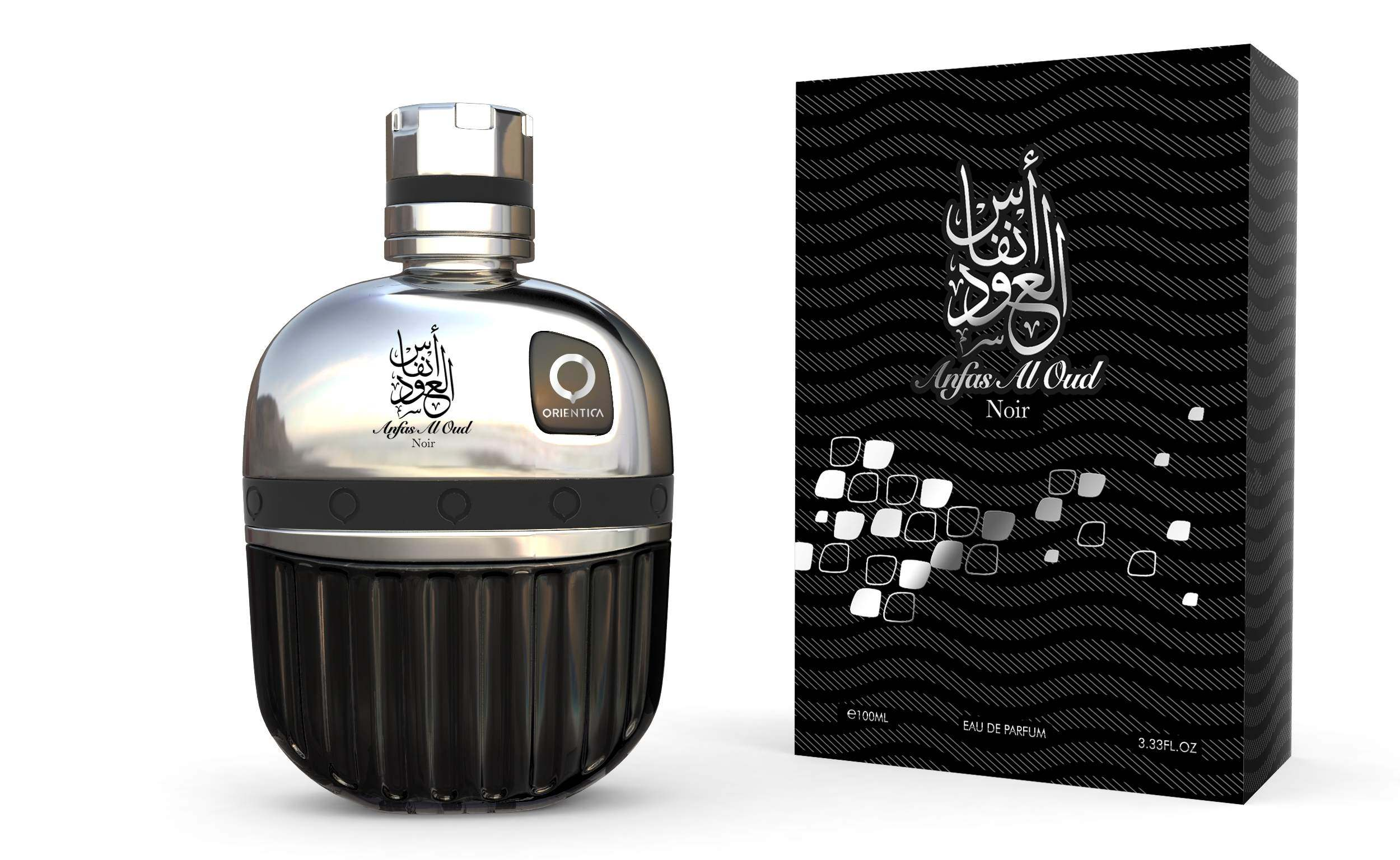 Anfas Al Oud Noir -  Eau De Parfum for Men - 100ml by Orientica