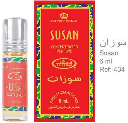Susan - 6ml (.2 oz) Perfume Oil  by Al-Rehab