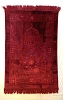 Luxurious Muslim Prayer Rug/Mat (Sajjada/Janamaz) by Safi- RED