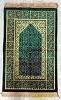 Safi Prayer Rugs - Design  SA-D2 Dark Green - Design Spiegel - Design Plush
