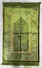 Safi Prayer Rugs - Design  SA-D2 Green - Design Spiegel - Design Plush