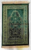 Safi Prayer Rugs - Design SA-D3 Dark Green - Design Spiegel - Design Plush