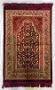 Safi Prayer Rugs - Design SA-D3 Red - Design Spiegel - Design Plush