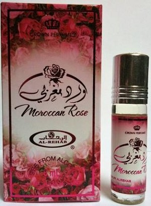 Moroccan Rose - 6ml (.2 oz) Perfume Oil  by Al-Rehab