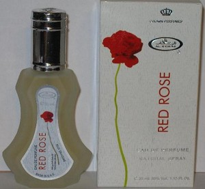 Red Rose - Al-Rehab Eau De Natural Perfume Spray- 35 ml (1.15 fl. oz)